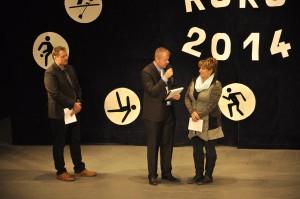 Slavnostní vyhlášení ankety Sportovec roku 2014.