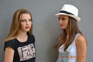 Modelky z Kempu 2015